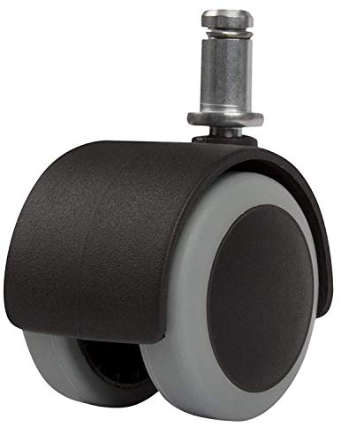 zitriom Premium Office Chair Caster Wheel Universal Standard Size 11mm Stem Diameter X 22mm Stem Length (7/16