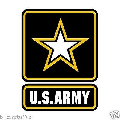 U.S. Army Logo Sticker Small Cell Phone Sticker iPhone Sticker Hard HAT Sticker