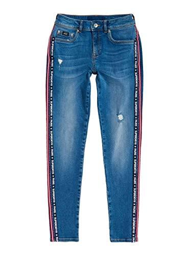 Twin Cassie Bleu Superdry Jeans Woman wXBHKaq