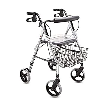 Amazon.com: Rollator Walker - Camino (altura regulable ...
