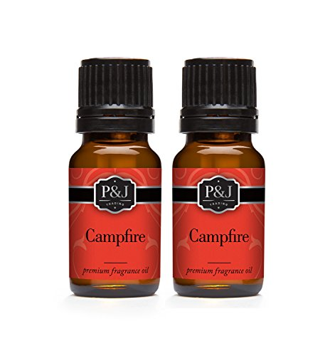 Campfire Fragrance Oil - Premium Grade Scented Oil - 10ml - 2-Pack