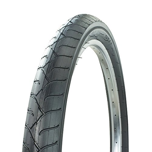 Wanda Fat Bike Bicycle Tire White Wall 26 x 3.0, for Beach Cruiser, Chopper, (Black)