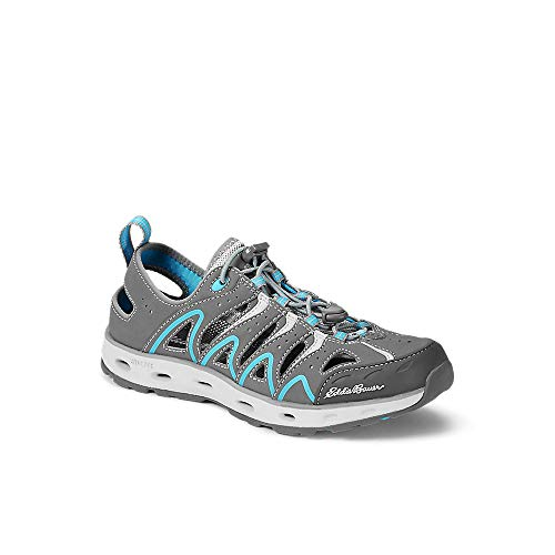 Eddie Bauer Women's Stine Amphib, Chrome Regular 6.5M