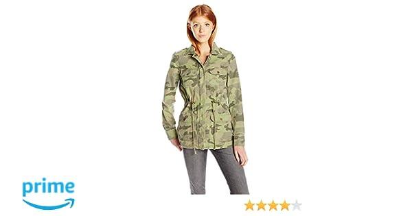 69280ba91d46f Amazon.com: Billabong Junior's Can't See Me Printed Army Jacket: Clothing