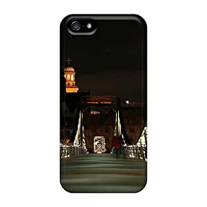 Defender Cases With Nice Appearance (frankfurt Bridge) For Iphone 5/5s