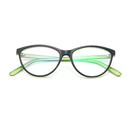 LOMOL Europe and America Retro Personality Transparent Lens Cateyes Frame Glasses For - Sunnies Cutler Custom And Gross