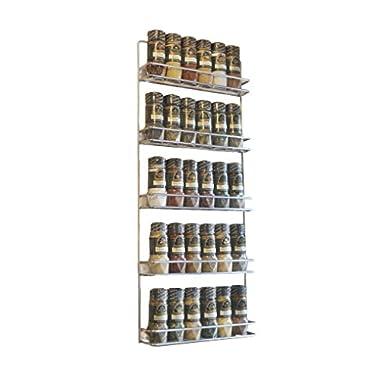 Avonstar Trading 101 5-Tier Spice Rack, Chrome