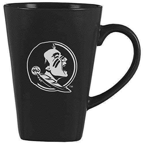 Florida State University -14 oz. Ceramic Coffee Mug-Black (Florida Seminoles Ceramic State)