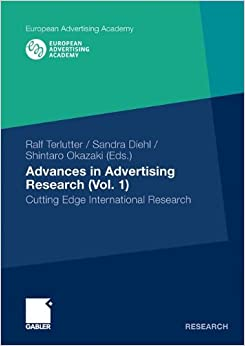 Book Advances in Advertising Research (Vol. 1): Cutting Edge International Research (European Advertising Academy)