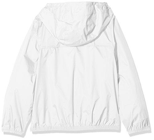 Bianco Bambina Impermeabile Giacca way K Aq487Iq