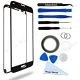 MMOBIEL Front Glass Display Touchscreen replacement kit for Samsung Galaxy S5 / S5 Neo BLACK with 12 pieces Tool Kit