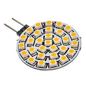 L&F- G4 GU4 MR11 30x3528SMD 90-110LM 3000K Warm White Light LED Spot Bulb...