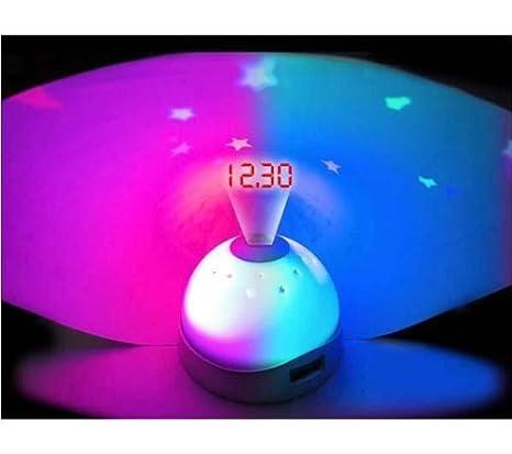 Amazon.com: Star que cambia de color reloj despertador ...