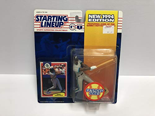 Gary Sheffield Florida Marlins 1994 SLU Collectible Toy Action Figure with Trading Card