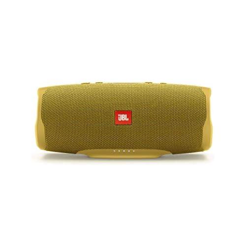 chollos oferta descuentos barato JBL Charge 4 Altavoz inalámbrico portátil con Bluetooth parlante resistente al agua IPX7 JBL Connect hasta 20 h de reproducción con sonido de alta fidelidad amarillo