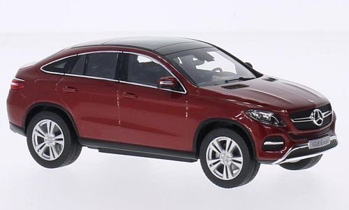 Mercedes GLE Coupe (C292), metallic-red, Model Car, Ready-made, I-Norev - Gle Model