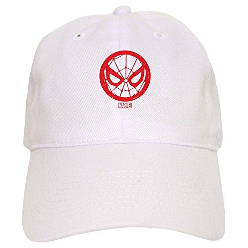 CafePress Spiderman Web Baseball Cap with Adjustable Closure, Unique Printed Baseball Hat