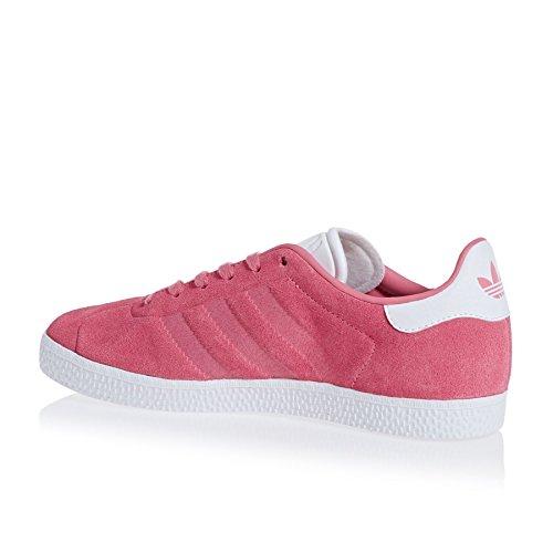 Sneaker Adidas Unisex Bambini Rosa Gazelle