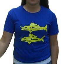 Blue Barracudas Legends of the Hidden Temple T-Shirt TV Game Show Team Costume