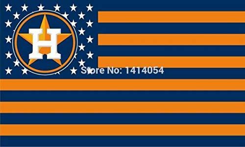 Houston Astros Americana Flag Logo Flag 3x5- With Grommets