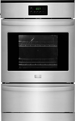 Frigidaire FFGW2415QS 24″ Single Gas Wall Oven with 3.3 cu. ft. Capacity Dual Radiant Baking and Roasting Vari-Broil Temperature Control and Ready-Select Controls in Stainless