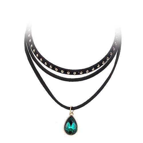 steampunk-3-layers-black-ribbon-chocker-necklace-women-fashion-jewelry-bib-necklace-collier-bijoux-f