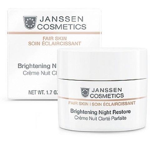 Janssen Cosmetics Fair Skin Brightening Night Restore 1.7oz 50ml 3320