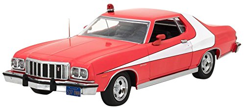 GreenLight - (1:24 Scale) Starsky and Hutch (TV Series 1975-79) - 1976 Ford Gran Torino - - Car Replica Diecast Diecast