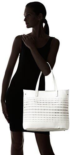 Clarks Mixbury Vine, Bolsa de Asa Superior para Mujer Blanco (White)