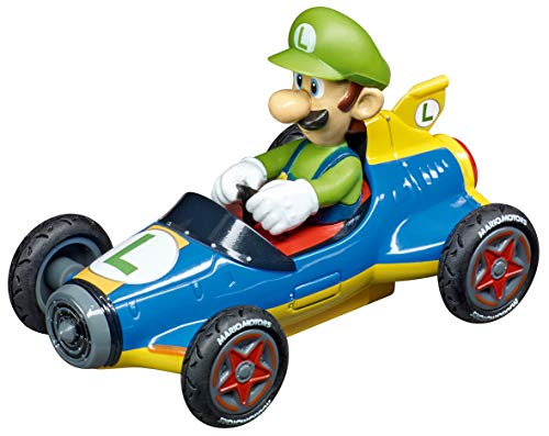 Carrera 64149 Nintendo Mario Kart 8 Mach 8 Luigi GO!!! Analog Slot Car Racing Vehicle 1:43 Scale