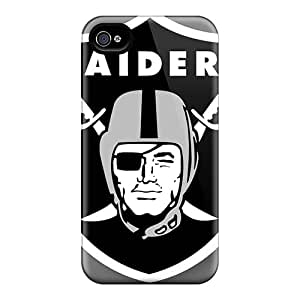 High Quality Hard Phone Case For Iphone 6 (pTa12054zgkk) Custom High-definition Oakland Raiders Series