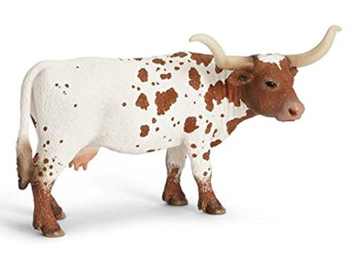 (Schleich Texas Longhorn Cow Toy Figure)