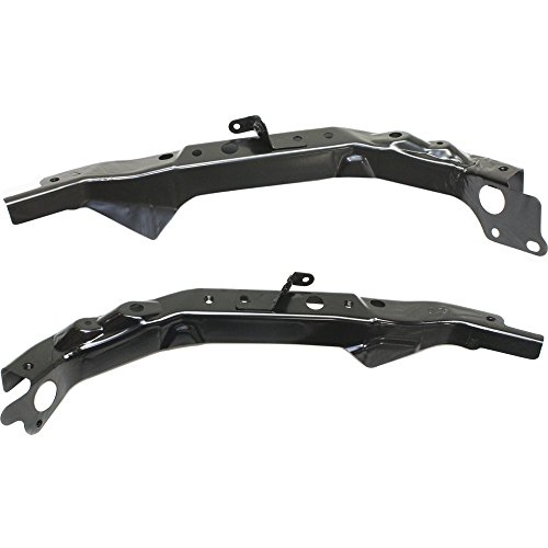 Evan-Fischer EVA1790107141569 Radiator Support Set of 2 for ALTIMA 13-16 MAXIMA 16-16 RH and LH Steel Sedan Right and Left Side Assembly -