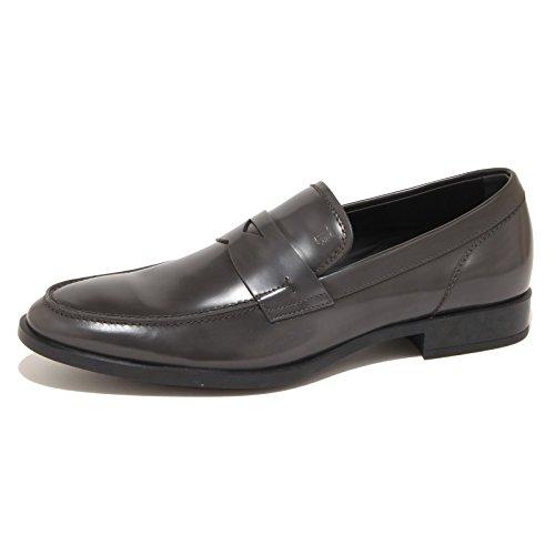 7765N mocassino uomo TODS pelle grigio shoes man Grigio