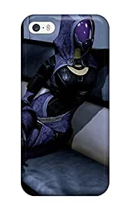 Hot Tpu Cover Case For Iphone/ 5/5s Case Cover Skin - Mass Effect