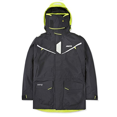 Musto MPX Gore-Tex Pro Offshore Jacket Waterproof, Windproof, and Breathable Black MD