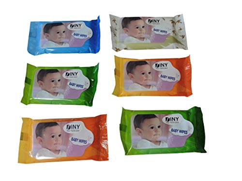 Packs Travel Wipes Diaper Compartment product image