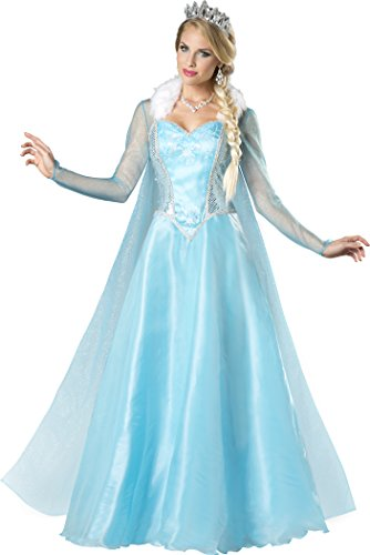 InCharacter Costumes Women's Snow Princess Costume, Blue, Large (Lady Knight Costume)