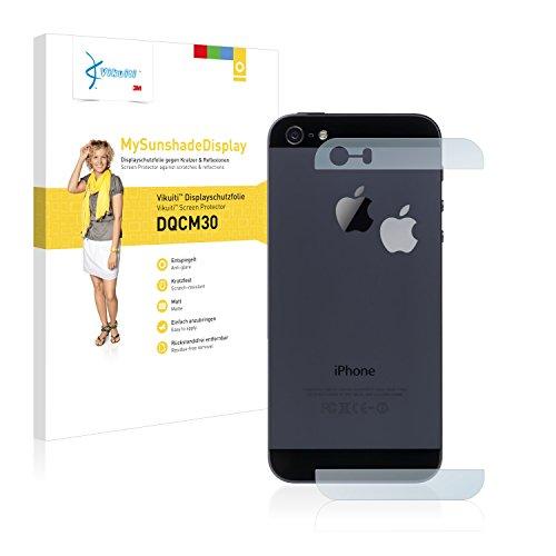 Vikuiti Pellicola Protettiva Schermo DQCM30 da 3M per Apple iPhone 5S Posteriore (superfici di vetro + logo)