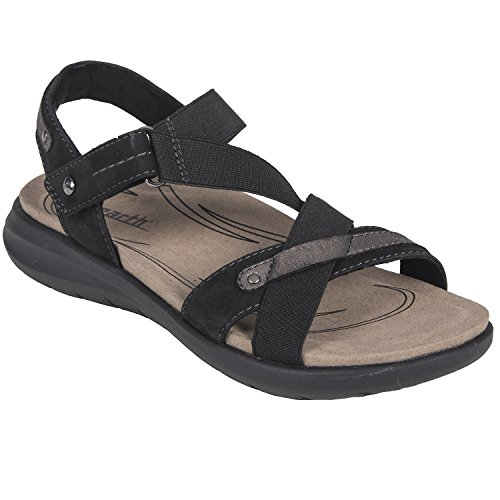 Earth Shoes Bali Women's Black 9 Medium US (Sandals Womens Shoes Earth)