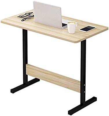RMJAI Mesa portatil Mesa de cama portátil Escritorio pequeño Mesa ...