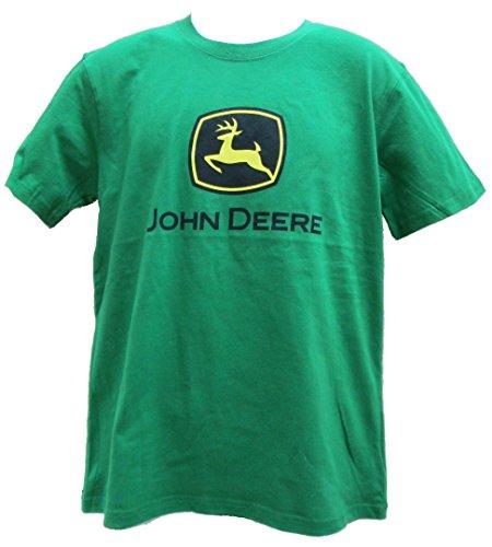 John Deere Logo T-Shirt - Men's - John Deere Green, X-Large from John Deere
