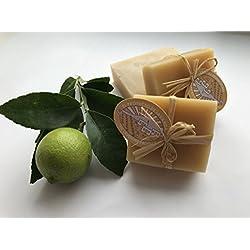 Jabón de limón con miel de 80 Grs.