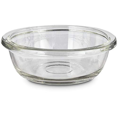 Bowlmates by Petco Glass Bowl Insert, 0.75 Cup, X-Small, - Bowl Insert