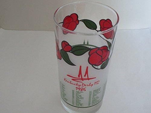 1986 Kentucky Derby Glass -