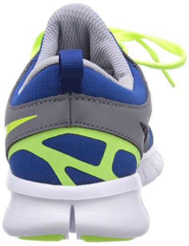 Nike Unisex-Child Free Run 2 Running Shoes Gym Blue/Volt i44328kk