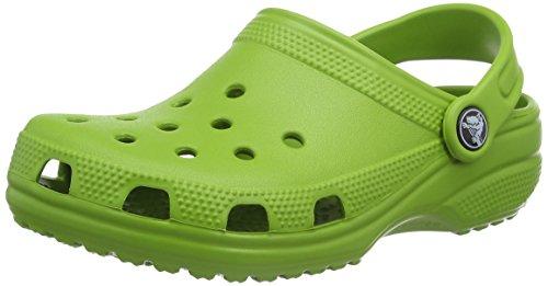 Crocs Kids' Classic Clog, Parrot Green, 3 US Little Kid / 5 US Big Kid -