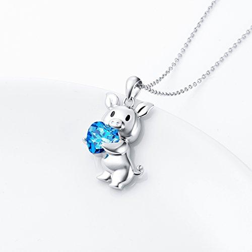 Girlfriend Birthday Gifts 925 Sterling Silver Cute Animal