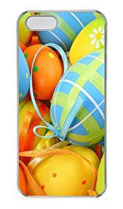 iPhone 5 5S Case Easter Egg Decorations PC Custom iPhone 5 5S Case Cover Transparent by icecream design