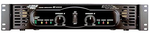 PYLE-PRO PT6800 - 3000 Watts x 2 Bridgeable Power  Amplifier